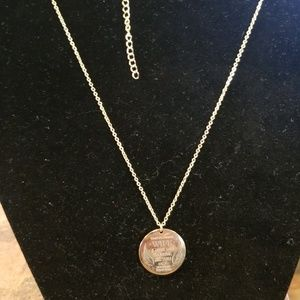"""Accessories - NWT """"To My Beautiful Wife"""" Necklace 18"""""""